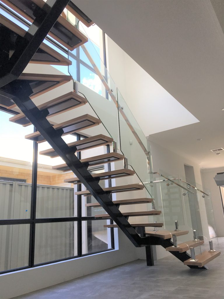What Is Stainless Steel Made Of >> Steel Spine Staircases | Customised Metal Works | Made to suit